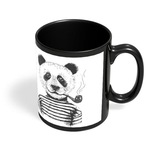 Coffee Mugs Online | Panda Elite Black Coffee Mug Online India