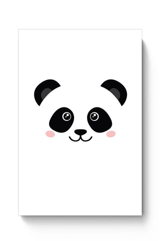 Posters Online | Cute Panda Face Poster Online India | Designed by: MonkeyMan