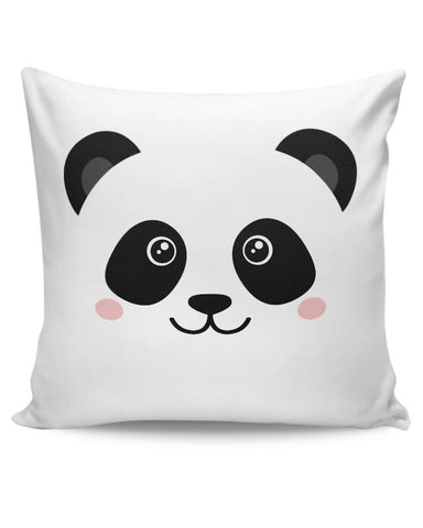 PosterGuy | Cute Panda Face Cushion Cover Online India