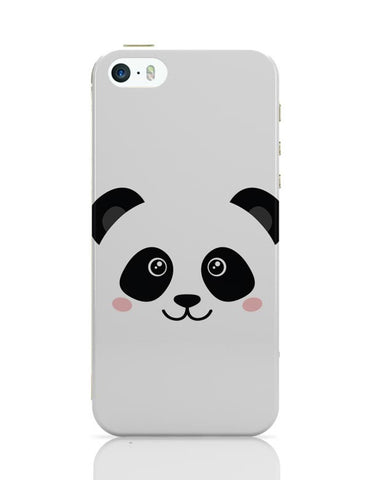 iPhone 5 / 5S Cases & Covers | Cute Panda Face iPhone 5 / 5S Case Cover Online India