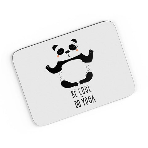 Be Cool, Do Yoga - Panda A4 Mousepad Online India