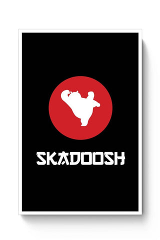 Posters Online | Skadoosh! Poster Online India | Designed by: MonkeyMan