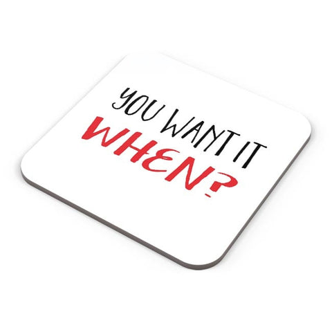Buy Coasters Online | You Want It Them? (Brave Version) Coasters Online India | PosterGuy.in
