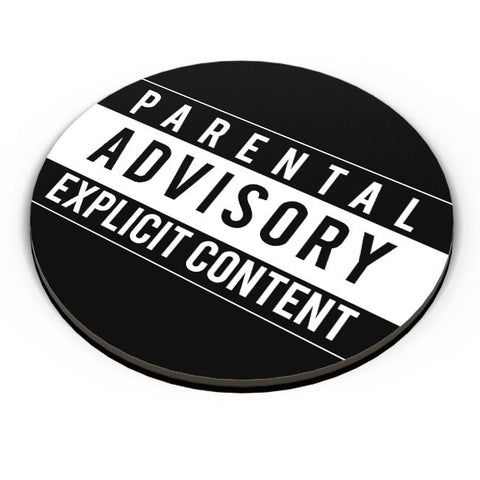 PosterGuy | Parental Advisory Fridge Magnet Online India by Monkey Man Designs