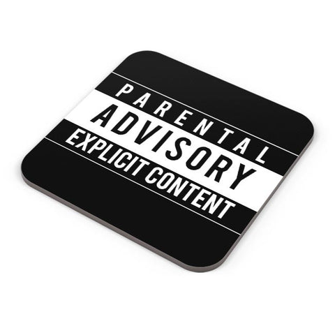 Buy Coasters Online | Parental Advisory Coasters Online India | PosterGuy.in