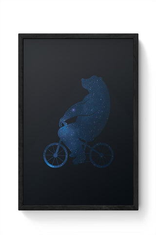 Framed Posters Online India | Starry Bear Framed Poster Online India