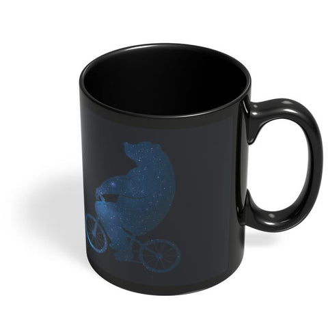 Coffee Mugs Online | Starry Bear Black Coffee Mug Online India