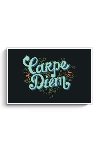 Posters Online | Carpe Diem Poster Online India | Designed by: MonkeyMan