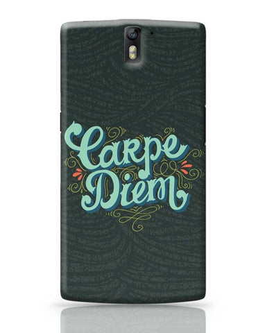 OnePlus One Covers | Carpe Diem OnePlus One Case Cover Online India