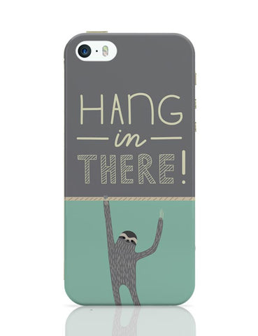 iPhone 5 / 5S Cases & Covers | Hang In There - Sloth iPhone 5 / 5S Case Cover Online India