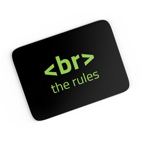 <Br> The Rules A4 Mousepad Online India