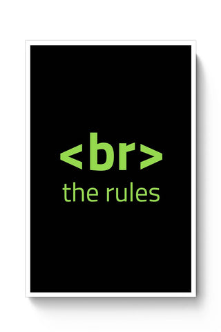 <Br> The Rules Poster Online India