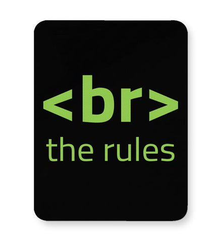 <Br> The Rules Mousepad Online India