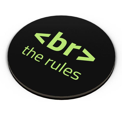 <Br> The Rules Fridge Magnet Online India