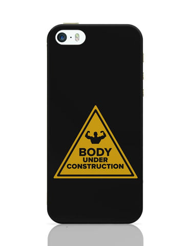 Body Under Construction iPhone Covers Cases Online India