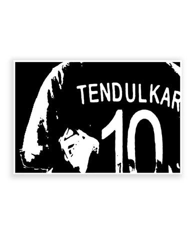 Buy Sports Posters Online | 10 Number Jersey   Sachin Tendulkar Poster | PosterGuy.in