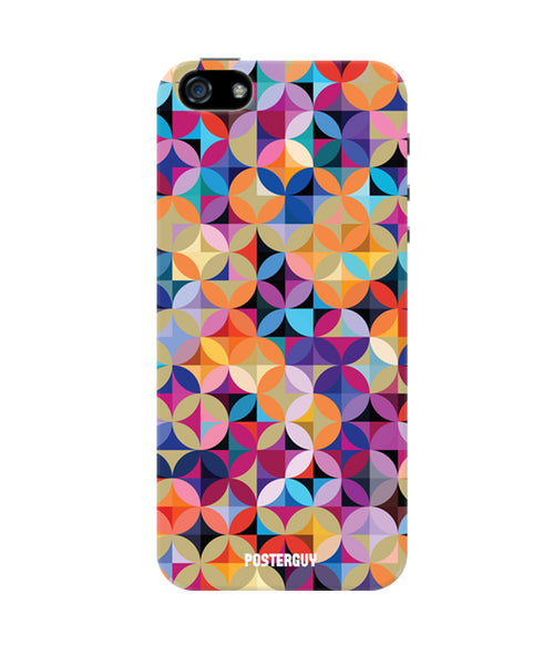 Circles Abstract Art iPhone 5/5S Case