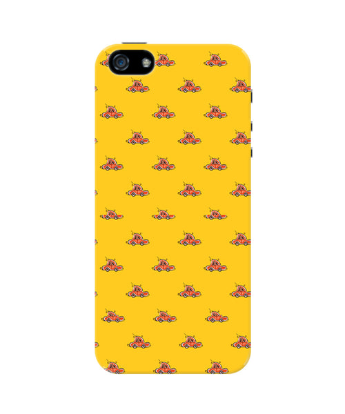 Yello Beetle Car Patterns iPhone 5/5S Case
