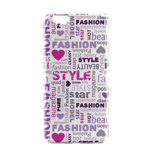 iPhone 6 Case & iPhone 6S Case | Style Freak Typographic iPhone 6 | iPhone 6S Case Online India | PosterGuy