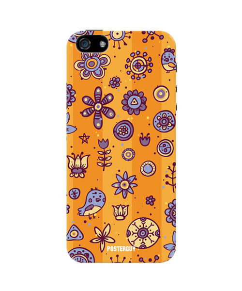Whimsical Flower iPhone 5/5S Case