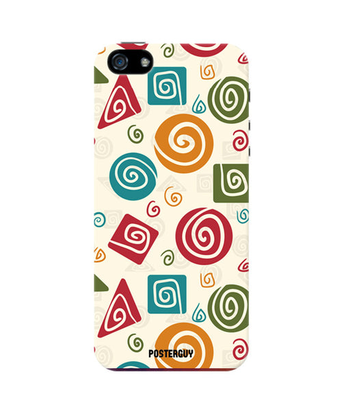 Colourful Vortex iPhone 5/5S Case