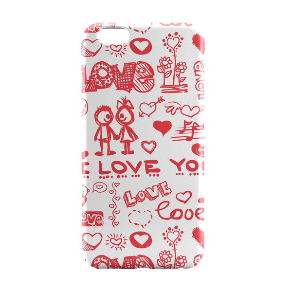 iPhone 6 Case & iPhone 6S Case | Summer Wine Love Typographic iPhone 6 | iPhone 6S Case Online India | PosterGuy