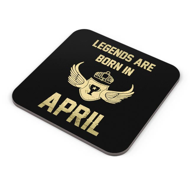Buy Legends Are Born In April Birthday Gift For Him Coaster Online India