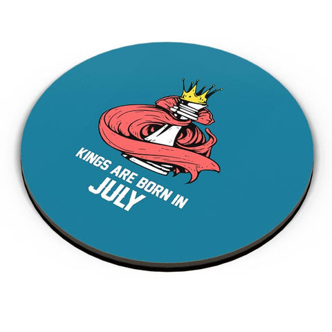 Kings Are Born In July | Birthday Gifts For Men Fridge Magnet Online India