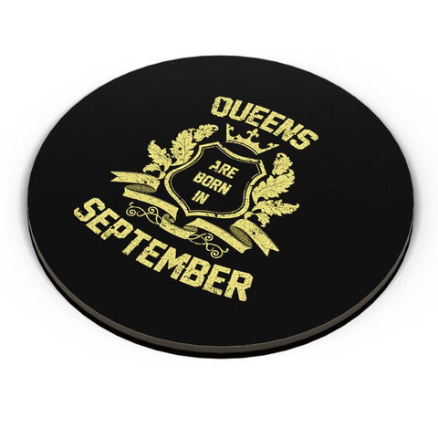 Queens Are Born In September | Birthday Gifts for Girls/Ladies Fridge Magnet Online India