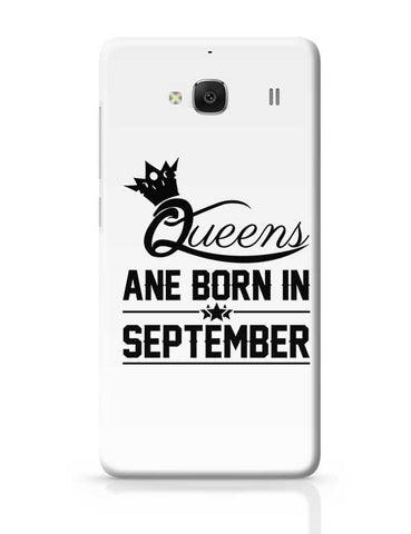 Queen are born in september Redmi 2 / Redmi 2 Prime Covers Cases Online India