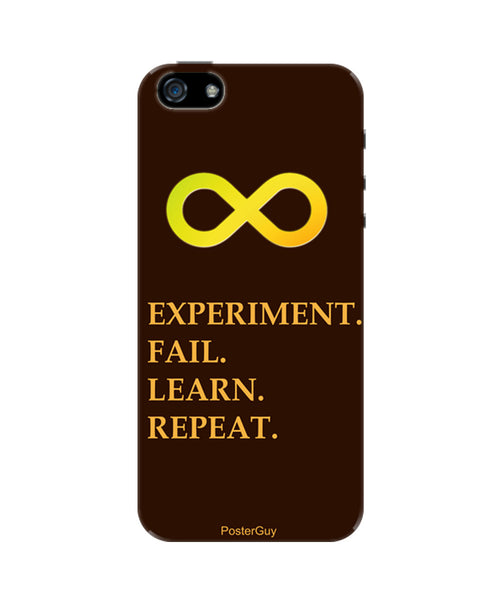 Experiment Fail Lear Repeat Motivational iPhone 5 / 5S Case