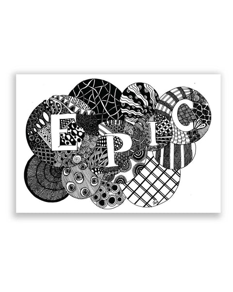 Buy Art Posters Online | Epic Chrono Poster | PosterGuy.in