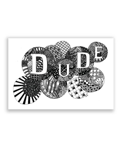 Buy Art Posters Online | The Dude Poster | PosterGuy.in