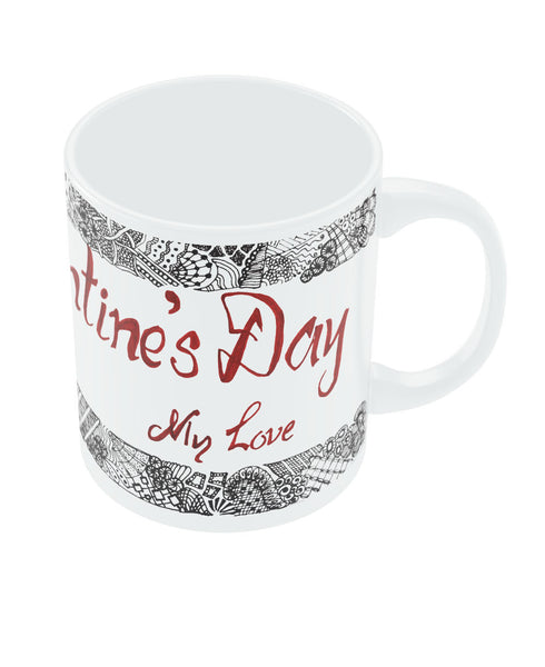 Happy Velentine's Day Coffee Mug Online India