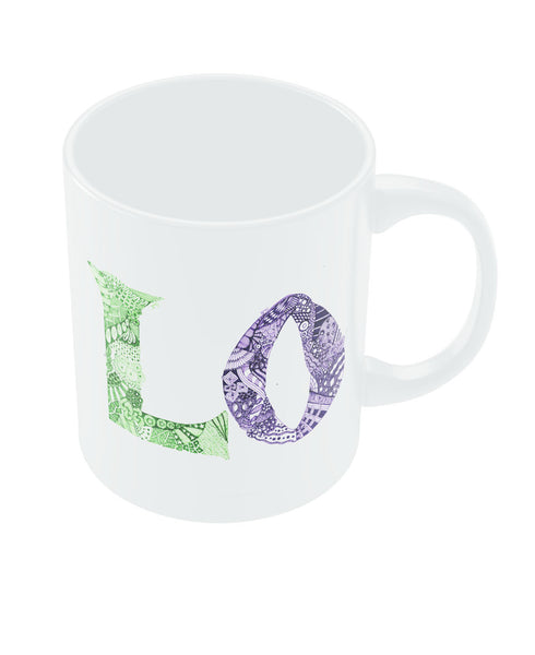 Love Couple L O Coffee Mug Online India