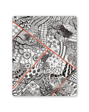 Mouse Pads | Cute Line Art Doodle Mouse Pad Online India | PosterGuy.in