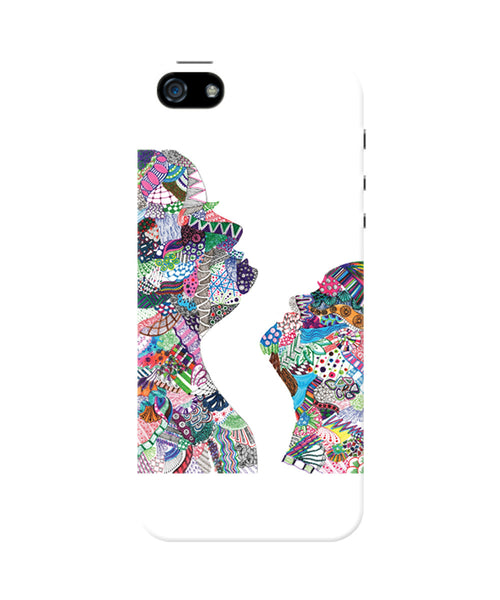 PosterGuy Beautiful Face Line Art Designer iPhone 5/5S Case
