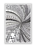 Buy Art Posters Online | Line Art Swirl Detailed Sketch Poster | PosterGuy.in