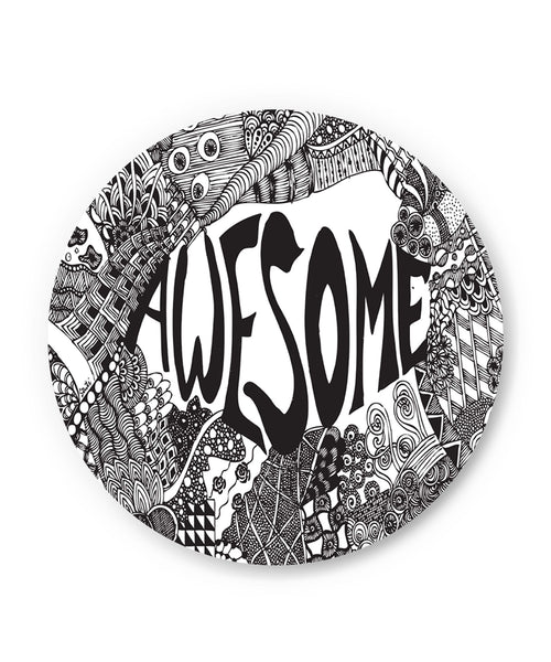 Awesome Line Art Sketch Detailed Fridge Magnet Online India