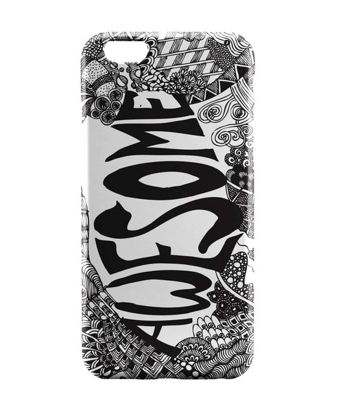 iPhone 6 Case & iPhone 6S Case | Awesome Line Art Sketch Detailed iPhone 6 | iPhone 6S Case Online India | PosterGuy