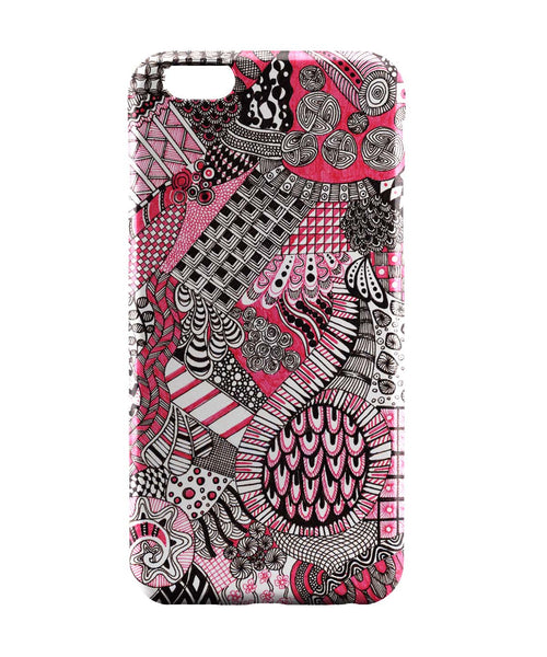 iPhone 6 Case & iPhone 6S Case | Divine Beauty Line Art Illustration iPhone 6 | iPhone 6S Case Online India | PosterGuy
