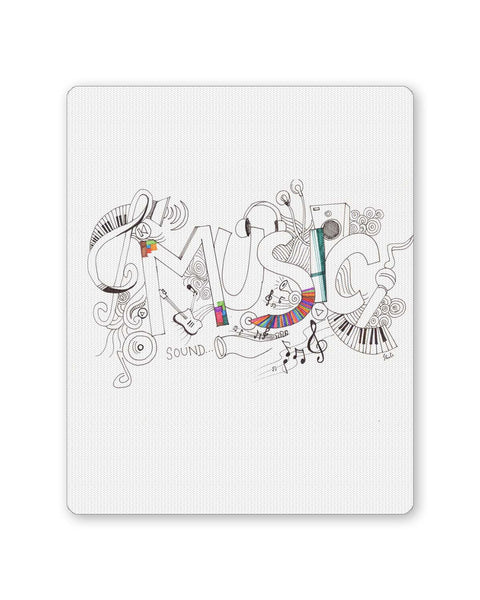 PosterGuy | Music Is My Life Illustration Mouse Pad 1103164516 Online India