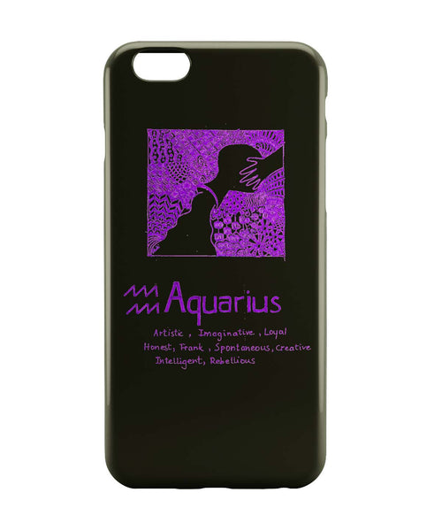 iPhone 6 Case & iPhone 6S Case | Aquarius| Zodiac Sign Gifts iPhone 6 | iPhone 6S Case Online India | PosterGuy