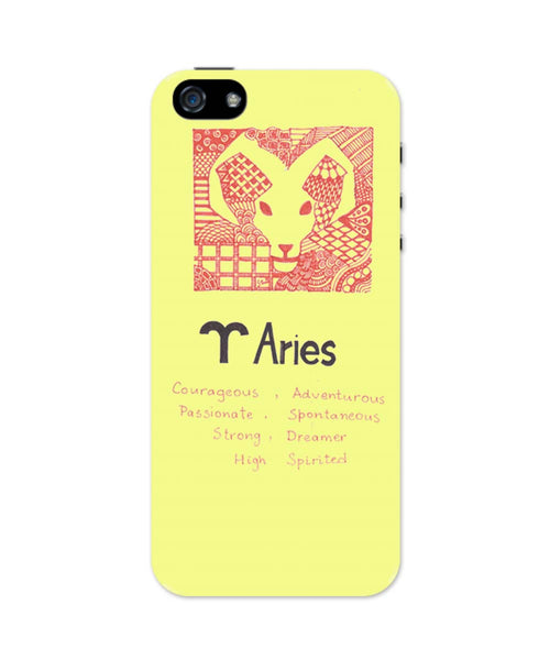 iPhone 5 / 5S Cases| Aries| Zodiac Sign Gifts iPhone 5 / 5S Case Online India