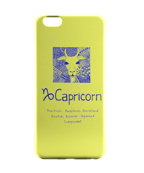 iPhone 6 Case & iPhone 6S Case | Capricorn| Zodiac Sign Gifts iPhone 6 | iPhone 6S Case Online India | PosterGuy