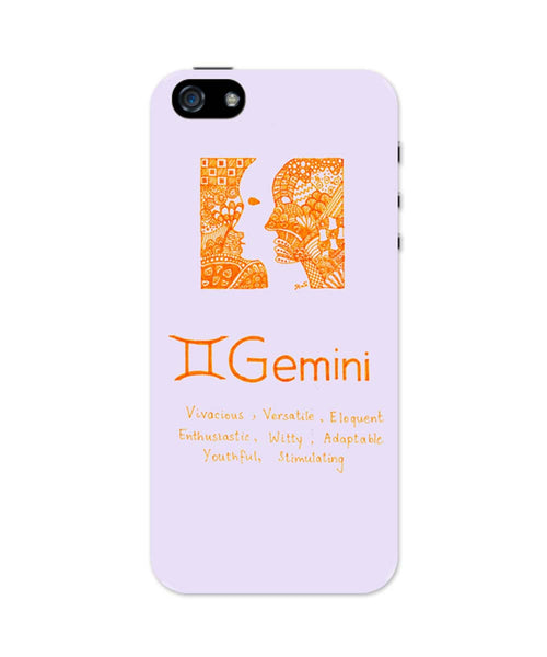 iPhone 5 / 5S Cases| Gemini| Zodiac Sign Gifts iPhone 5 / 5S Case Online India