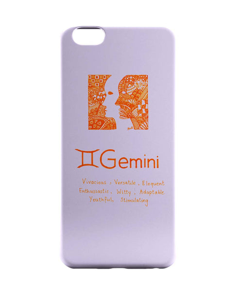 iPhone 6 Case & iPhone 6S Case | Gemini| Zodiac Sign Gifts iPhone 6 | iPhone 6S Case Online India | PosterGuy