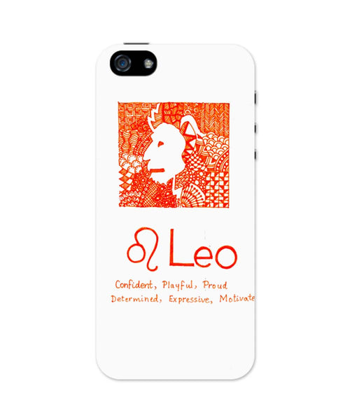 iPhone 5 / 5S Cases| Leo| Zodiac Sign Gifts iPhone 5 / 5S Case Online India