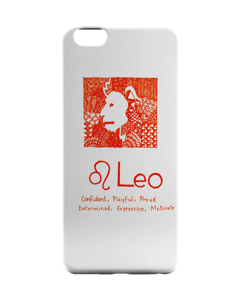 iPhone 6 Case & iPhone 6S Case | Leo| Zodiac Sign Gifts iPhone 6 | iPhone 6S Case Online India | PosterGuy