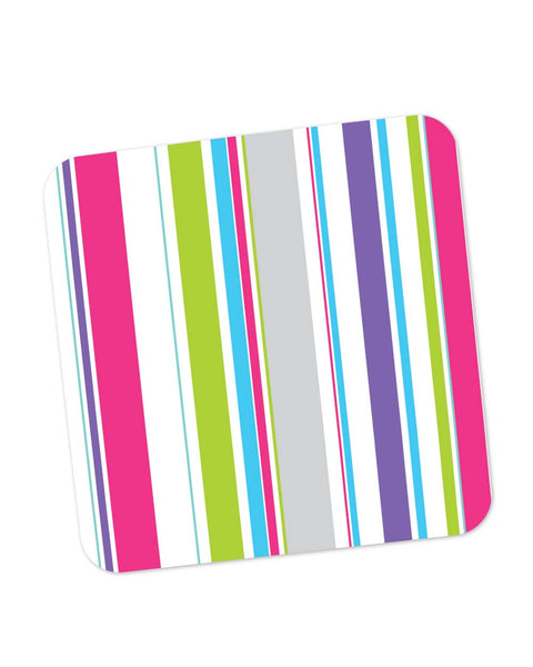 Buy Coasters Online | Abstract Stripes Coaster Online India | PosterGuy.in